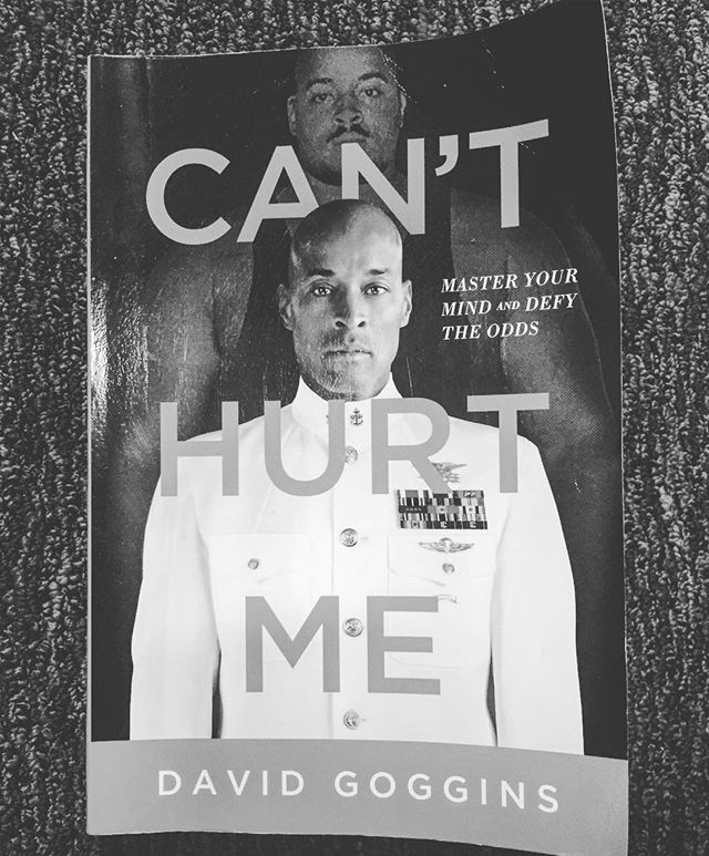 Need to kickstart the new year?Look no further than this book. If you're not familiar w/ @davidgoggins story, order this ASAP. GAME-CHANGER. #canthurtme
