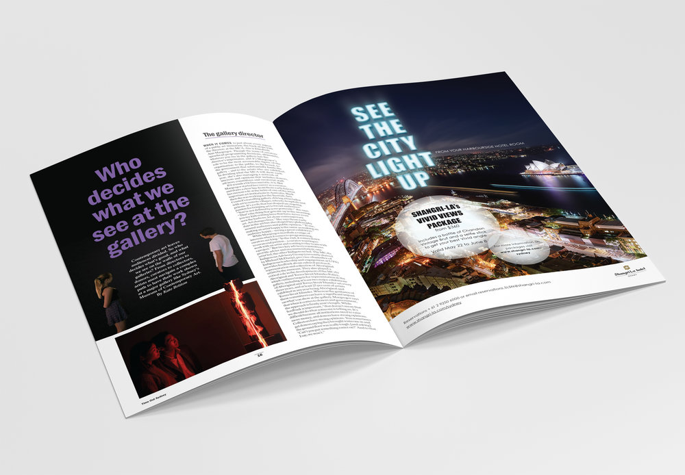 "Vivid Sydney Promotion  |  Shangri-La Hotel, Sydney  |  ""See the City Light UP!"""