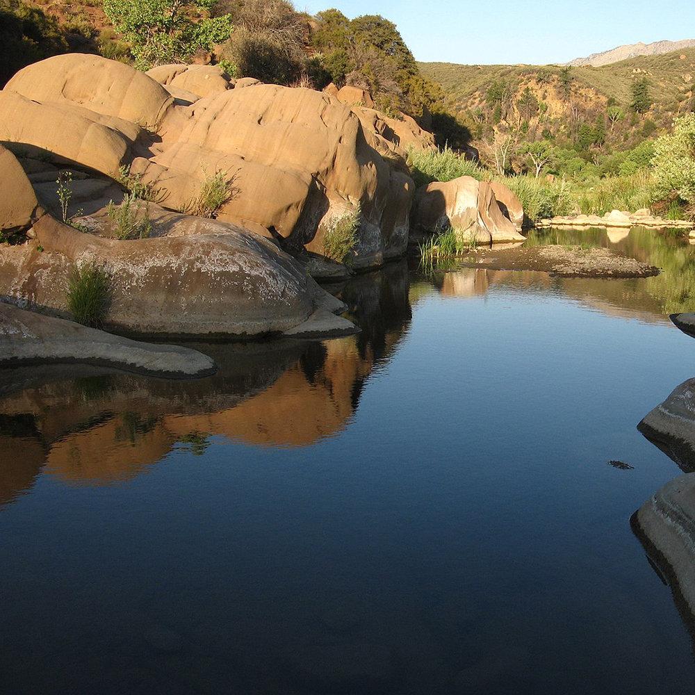 sespe hot springs backpacking pilgrimage