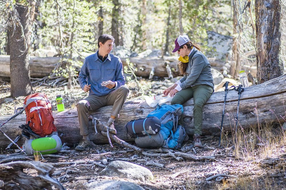 Yosemite Pilgrimage packing all-stars Lance & Miranda (photo: Ian Momsen)