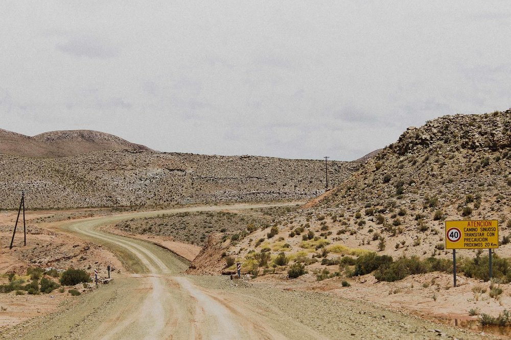 Dusty road, Northwest Argentina 2015.
