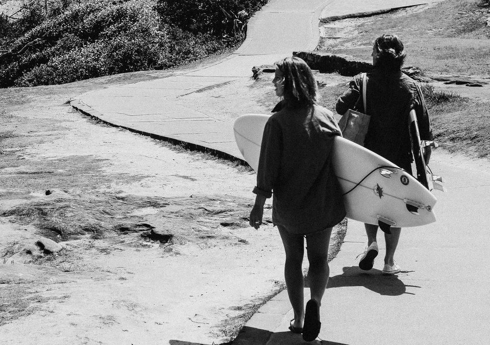 Let's go! Bondi Beach, Australia 2016