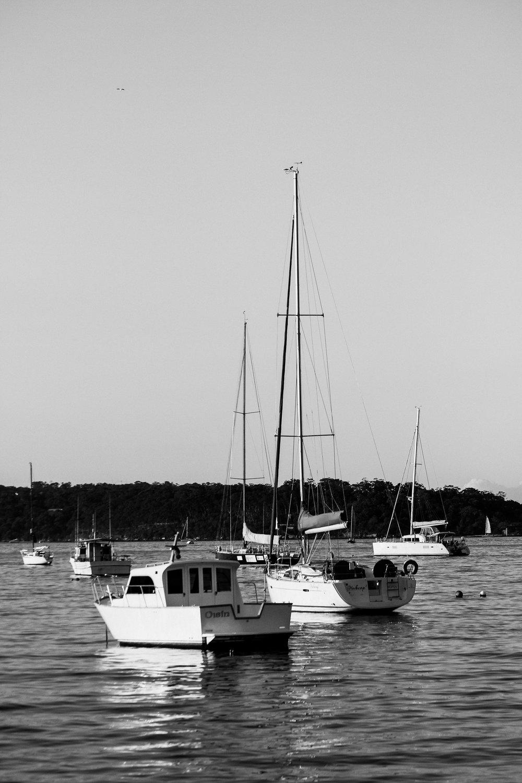 Docked Boats. Sydney, Australia 2015.