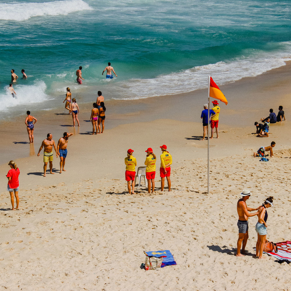 Lifeguards. Sydney, Australia 2016