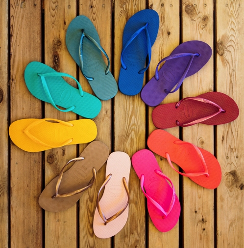 HAVAIANAS  The Brazilian Flip-Flop Icon, Havaianas, has a surprise in store at Food Club Social. You can definitely kick off those socks and shoes and flip-flop up, but the memory of their surprise will last way past the Food Club Social weekend!