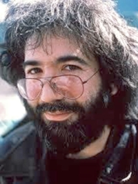 Jerry Garcia, guitarist and songwriter for the Grateful Dead.