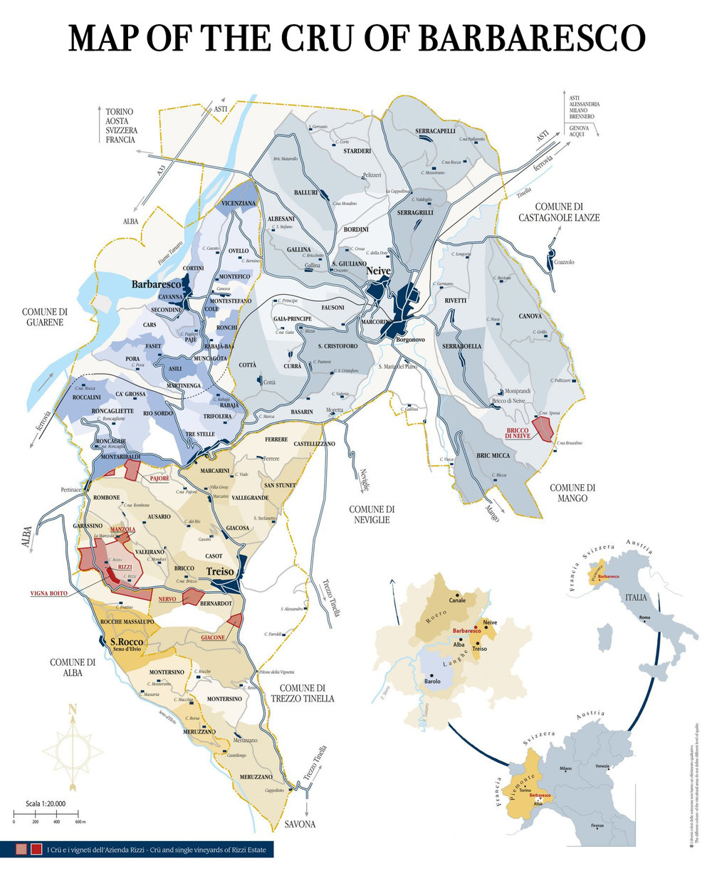 MAP OF THE CRU OF BARBARESCO CANTINA RIZZI TREISO WINE PIEDMONT.jpg