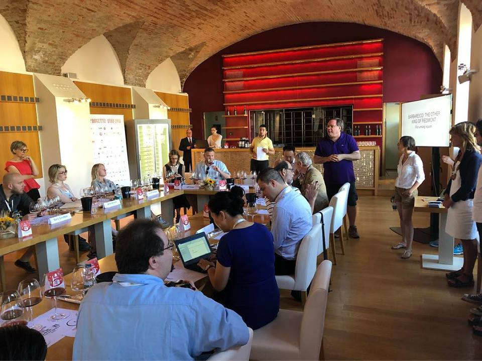 Barbaresco Masterclass at Progetto Vino #Collisioni Barbaresco's Team with Ian D'Agata seminari.jpg
