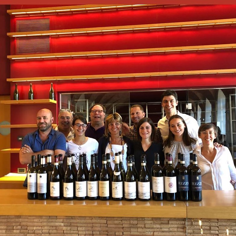 Barbaresco Masterclass at Progetto Vino #Collisioni Barbaresco's Team with Ian D'Agata.jpg