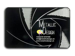 Black metal cards metallic design uk card black mirror 1 ming reheart Images
