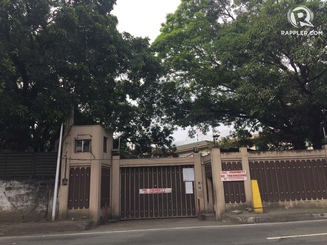 37 TANDANG SORA. The part of the Iglesia ni Cristo Compound where siblings Angel Manalo and Lottie Manalo-Hemedez reside. Photo by Rambo Talabong