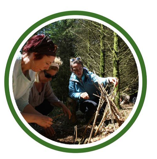 MODULE 2: HANDS 13th to 16th April 2018  - Bushcraft skills – firecraft, shelter-building, cutting tools, coppicing, woodcraft, wild foods, campfire cookery. Assignments & practices.