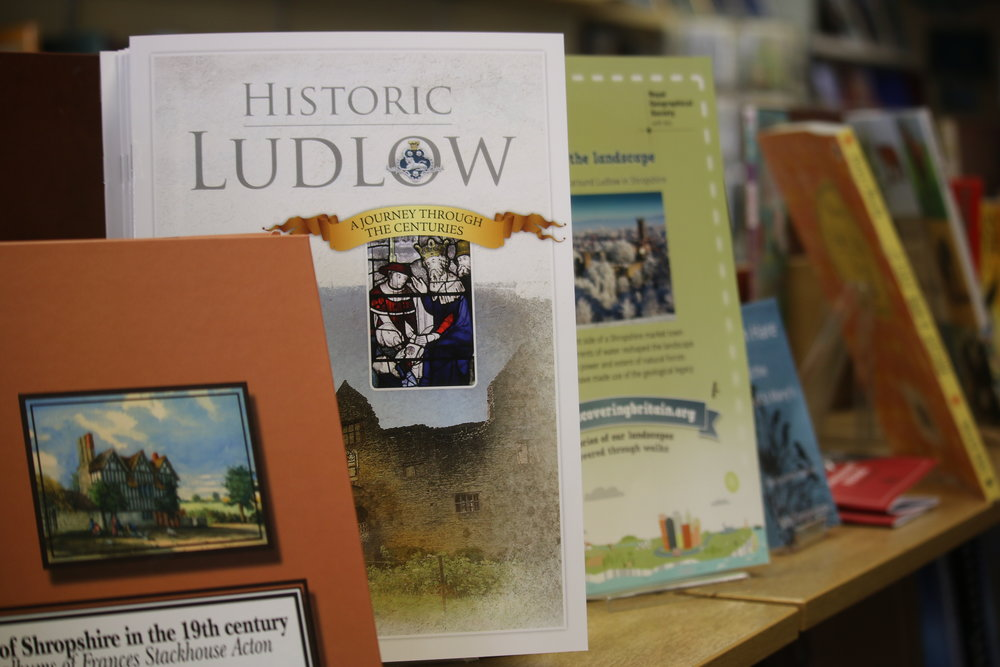 The bookshop stocks a number of books on local history