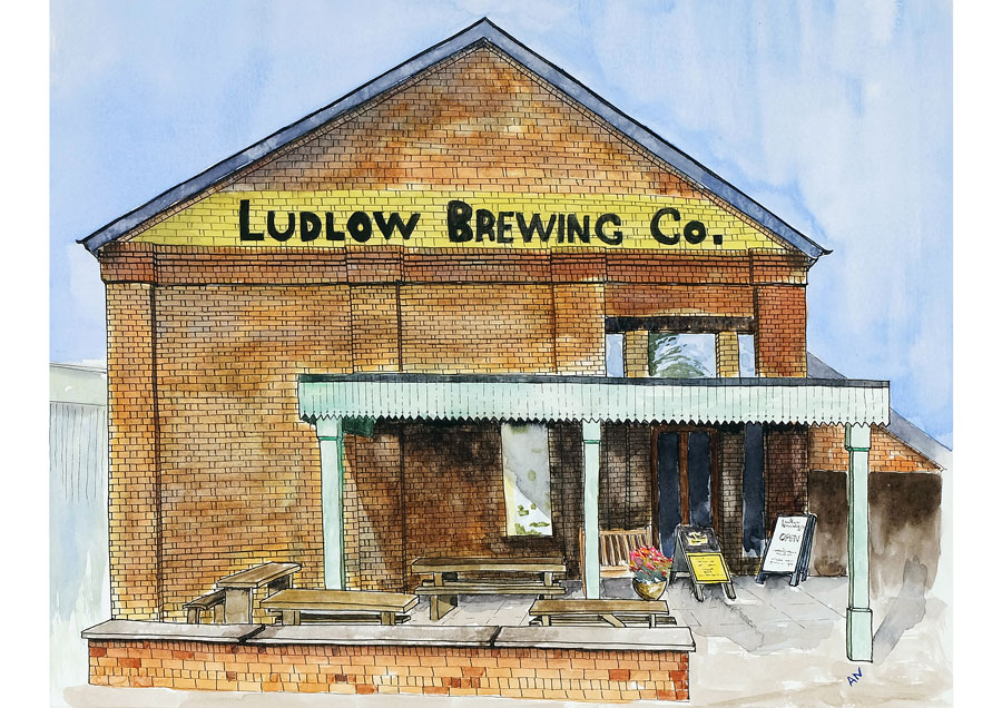 Ludlow Brewery copyright Andy Nash