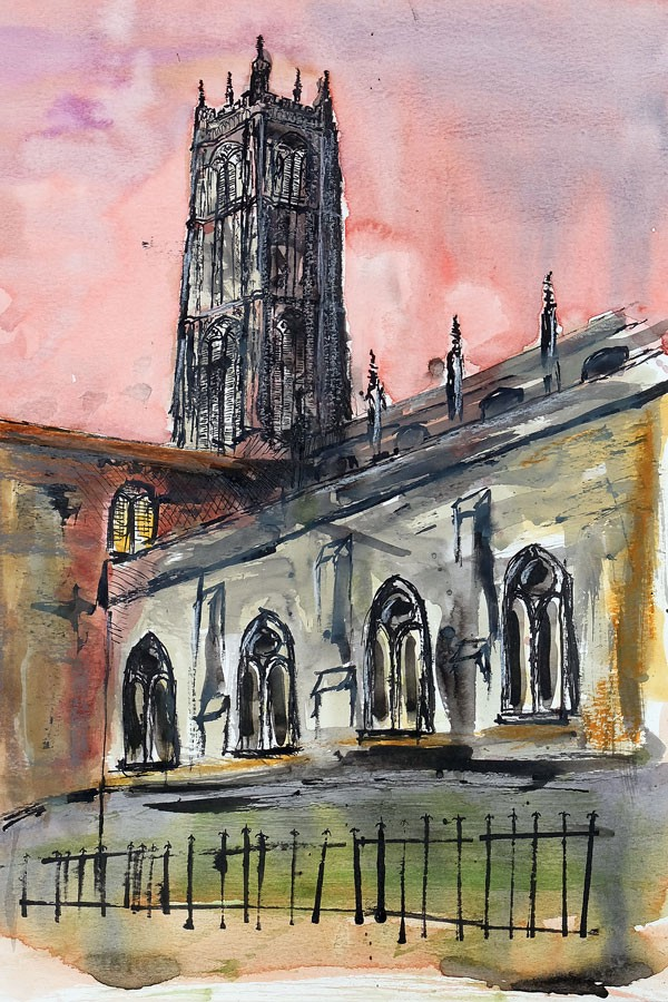 St Laurence's Church, Ludlow. copyright Andy Nash