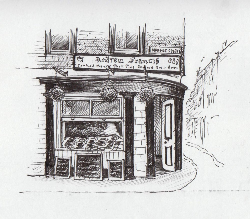 Andrew francis butcher copyright david gillett