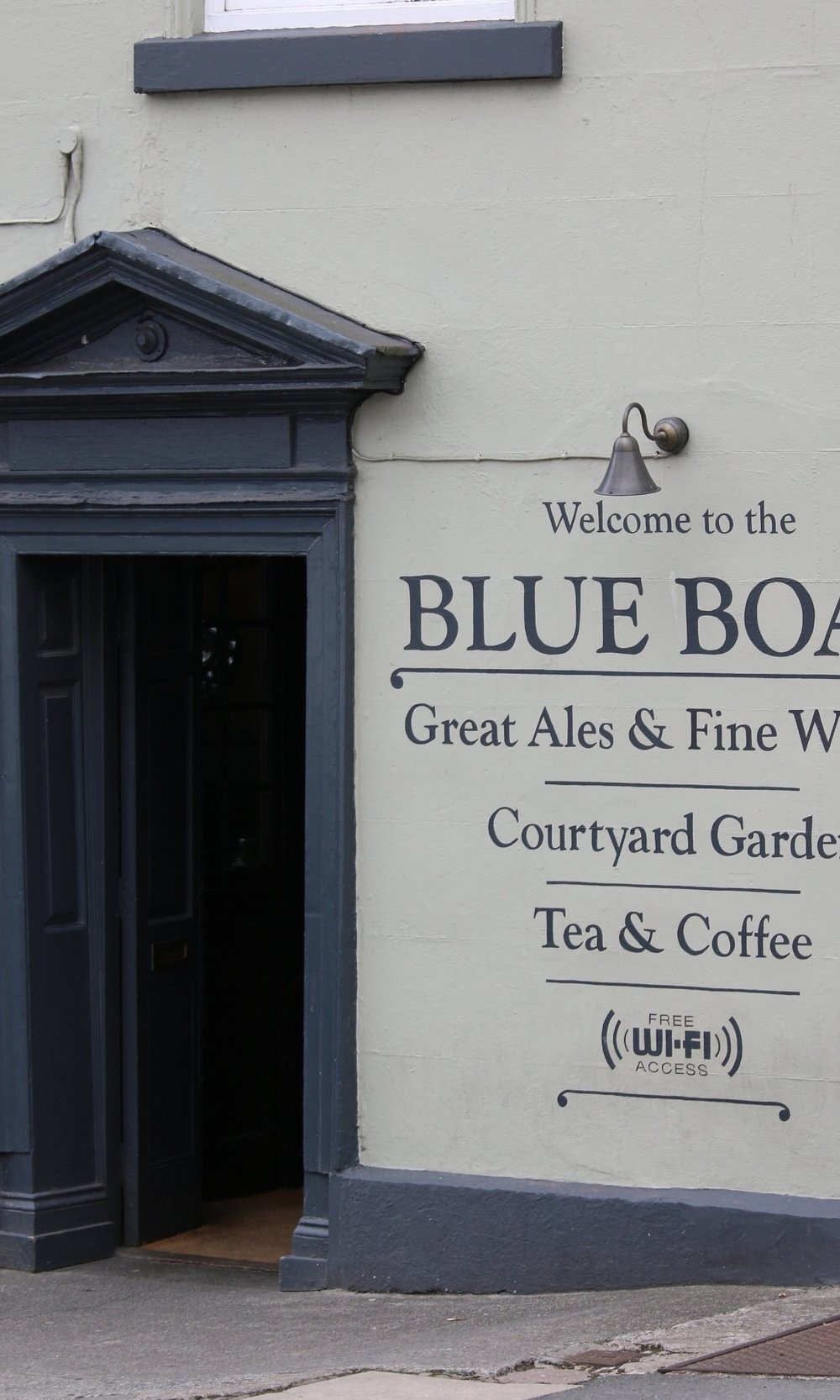 The Blue boar copyright let's go Ludlow