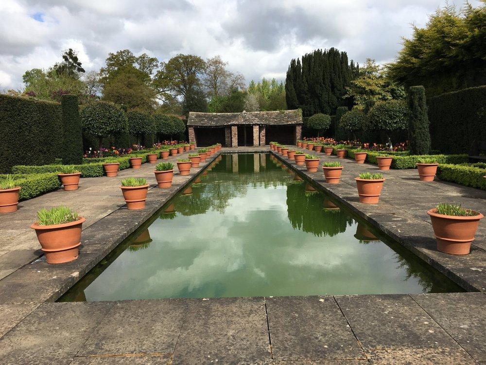 Hampton Court Castle Gardens Copyright Let's Go Ludlow