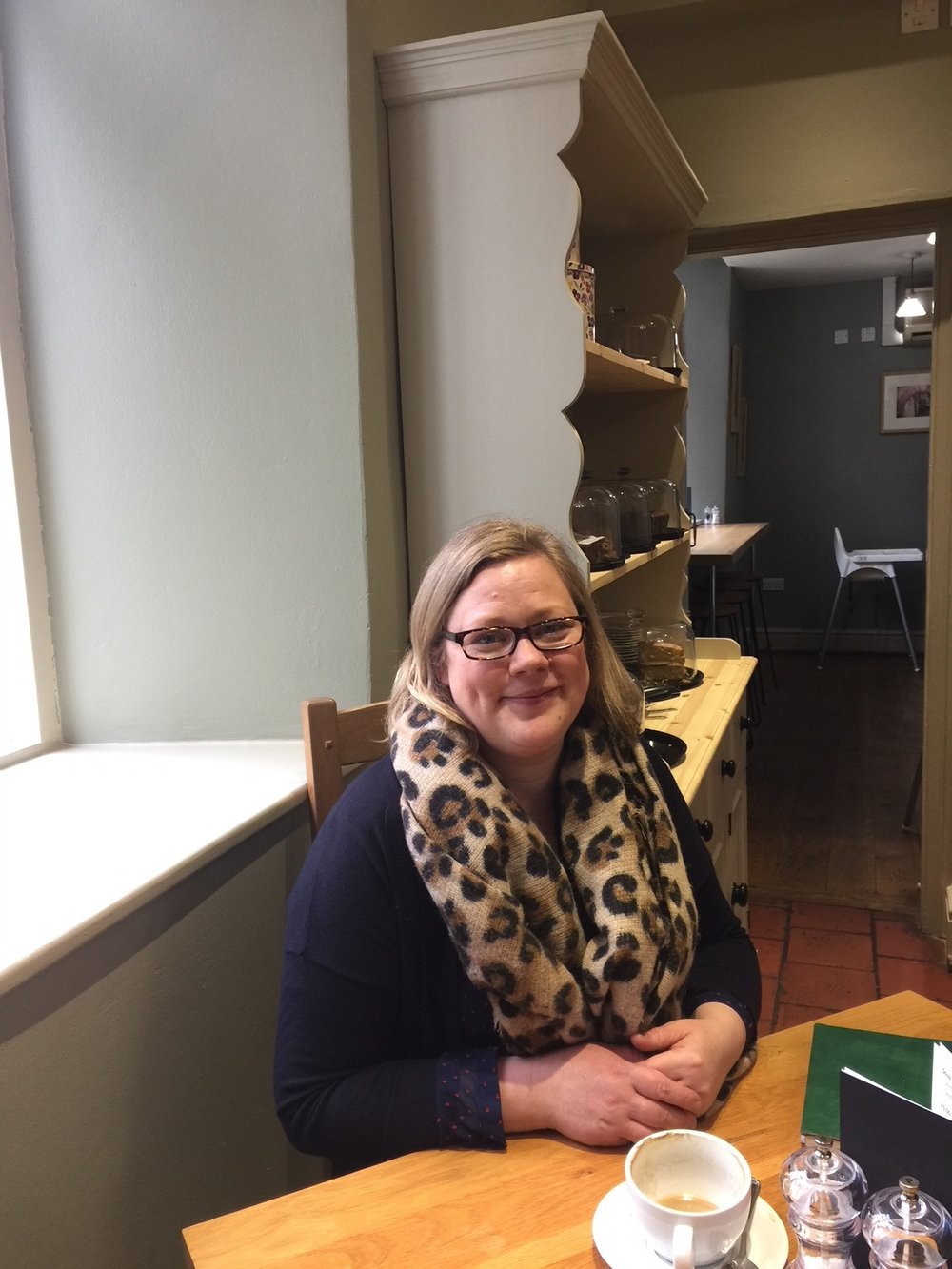 Hannah mackley, events manager, ludlow food festivals