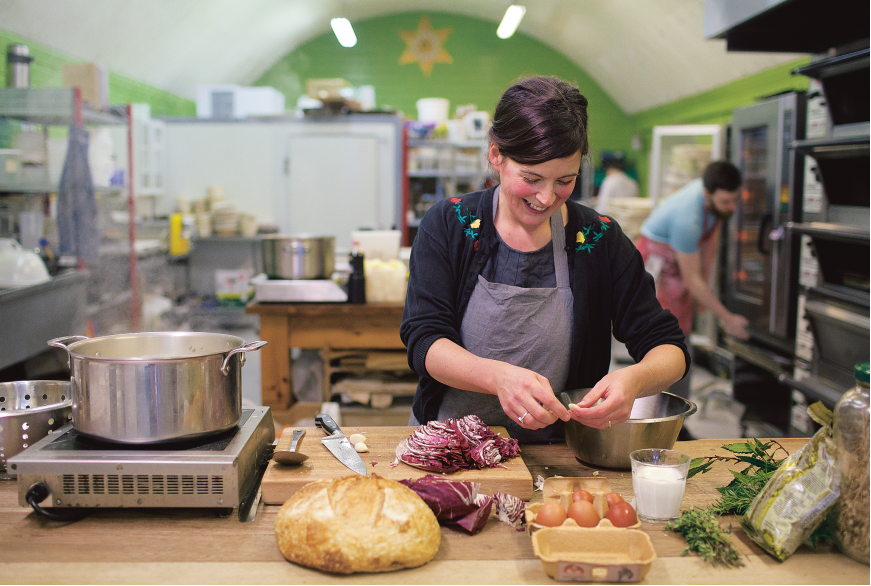 Chef Claire Thomson's top tip for September seasonal produce is to buy local
