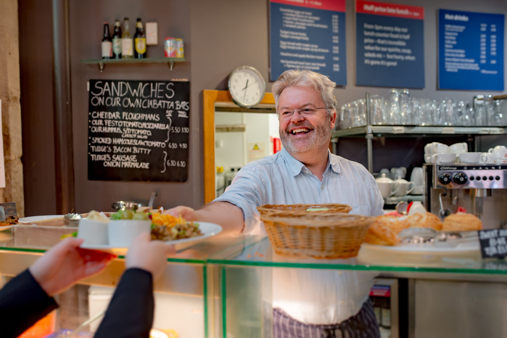 Bill Sewell, restaurateur, author dreams of opening a cafe in Ludlow Source: Ludlow Food Festival