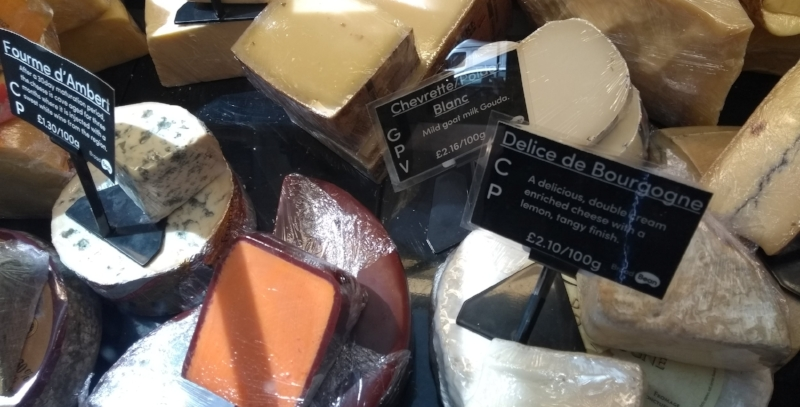 Find cheese at your the Broad Bean deli counter