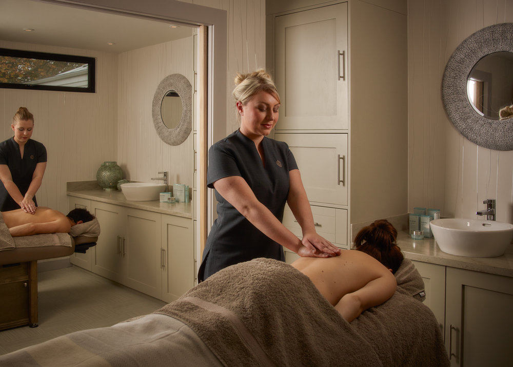Time to melt: Two treatment rooms at Fishmore Hall Spa