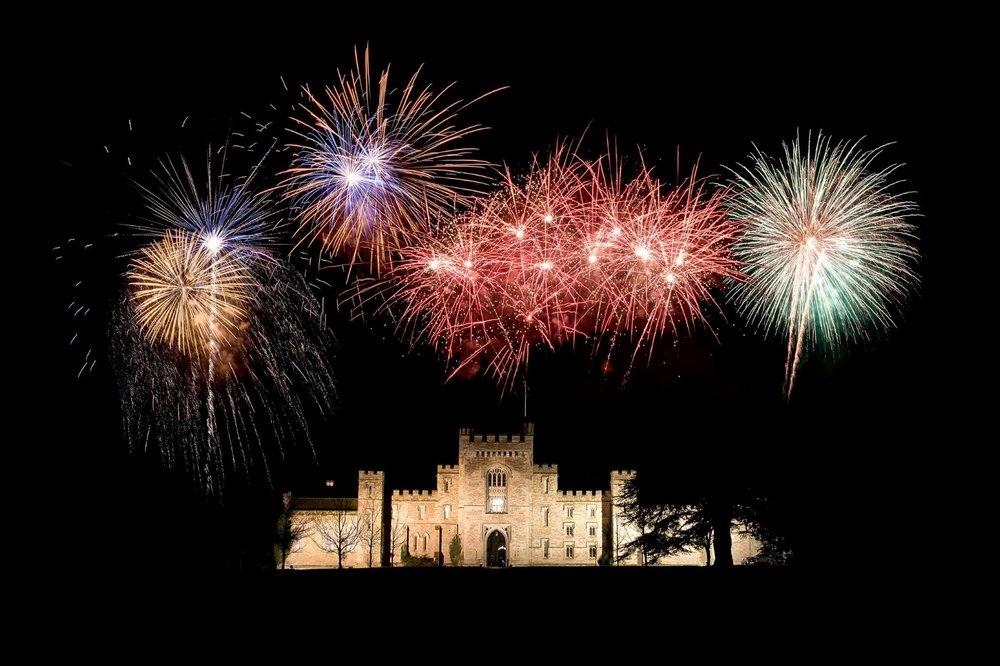 Hampton Court Castle Firework Spectacular
