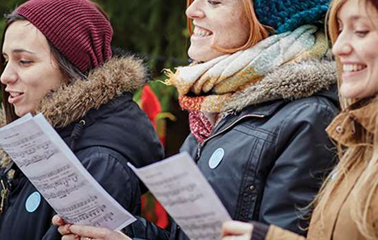let's go a carolling at Stokesay Castle