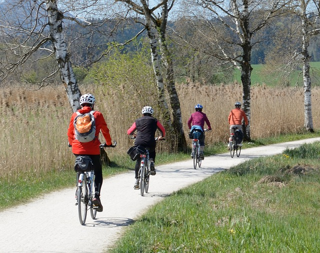 Finding the joy and fun in cycle rides