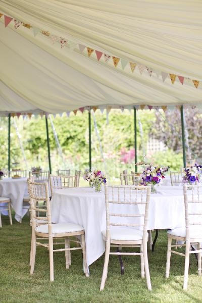 Burgoynes Traditional Marquee
