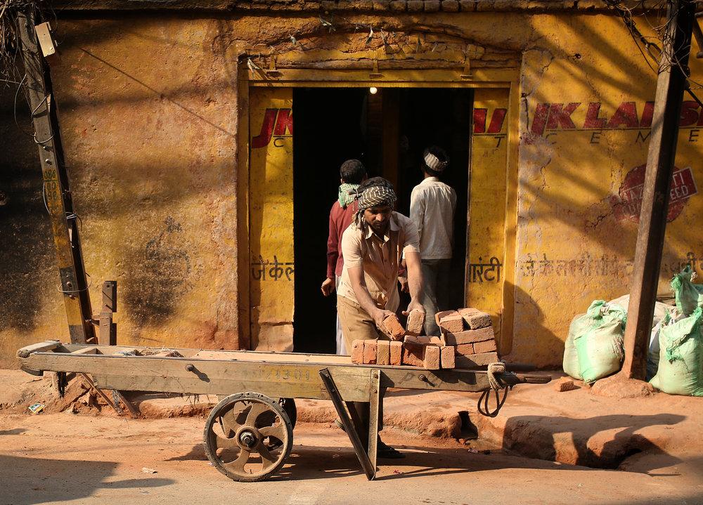 Old Delhi Labourer