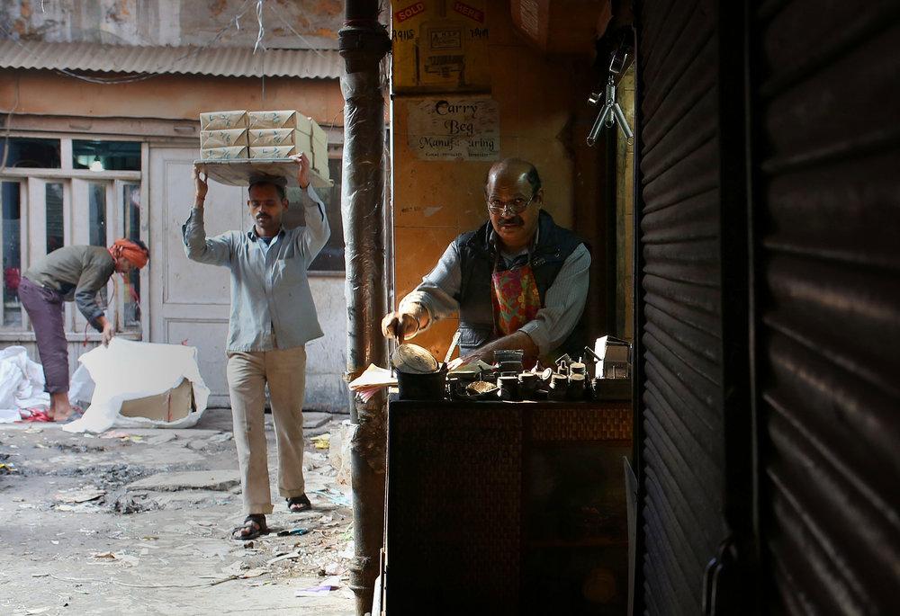Old Delhi traders