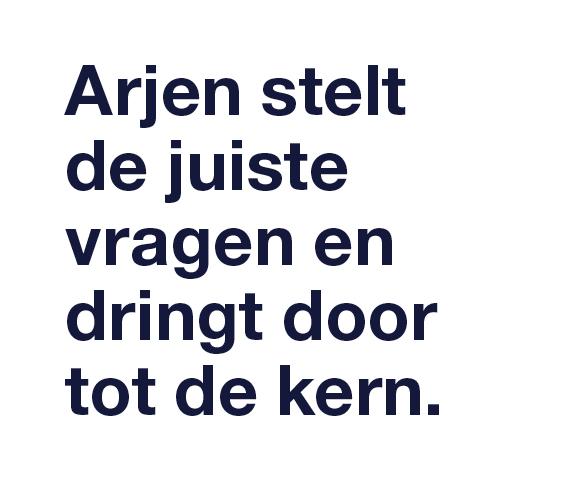 Arjen Hemelaar stelt de juiste vragen