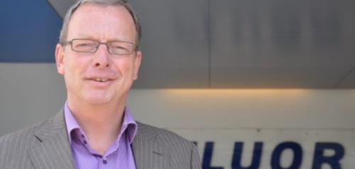 Marcel Bechger, Senior Director HR EMEA Fluor en facilitator project