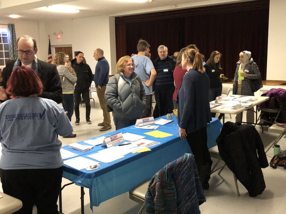 To kick off the new year, H-CAN held an action group fair at the January 14, 2018 monthly meeting.