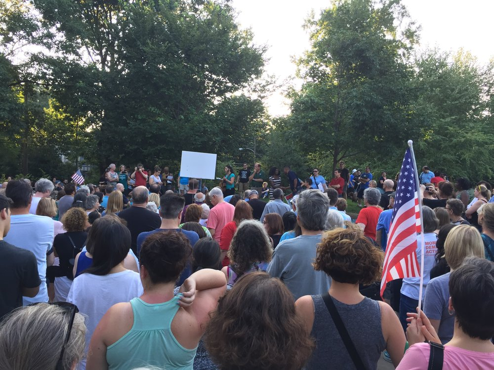 After a white supremacist protest turned violent in August 2017, H-CAN members came out to support a local Stand Up for Love event on August 13, 2017.