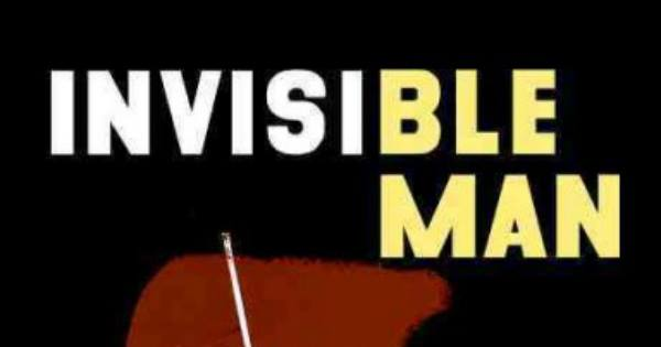 Invisible man book cover.
