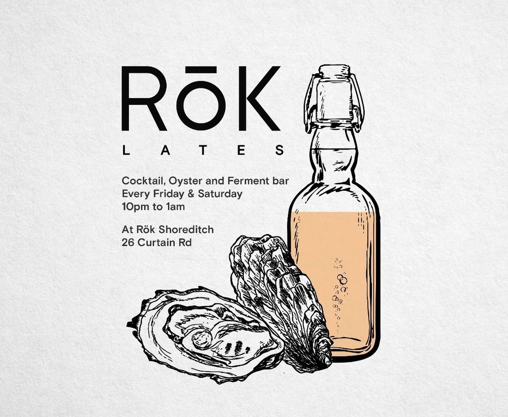 Rok Lates at our Shoreditch restaurant