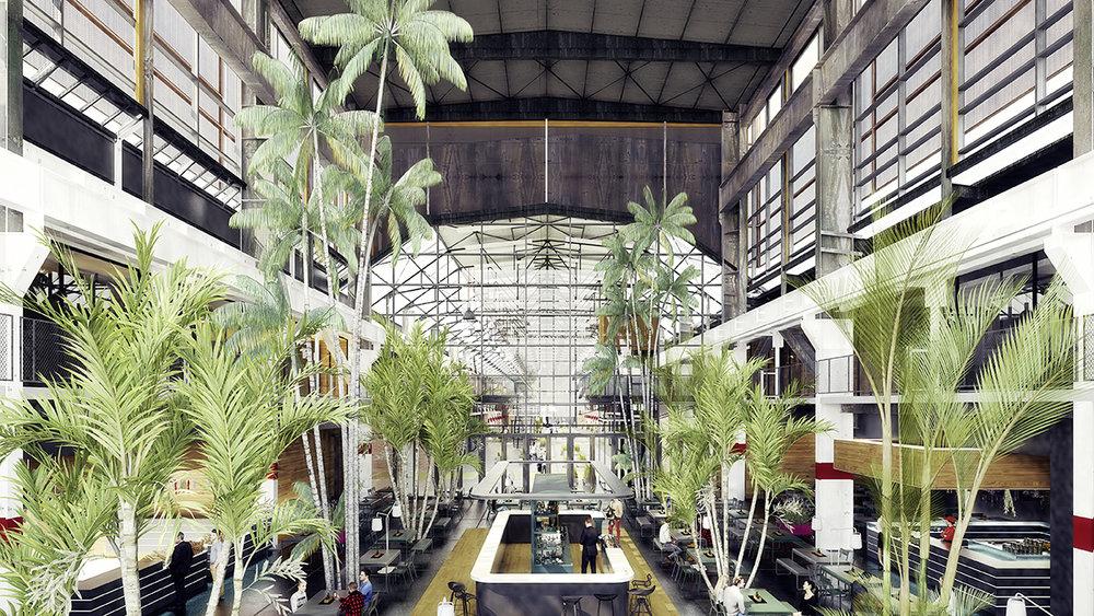 So soll das Palmenhaus auf dem Factory Campus in zwei Jahren aussehen