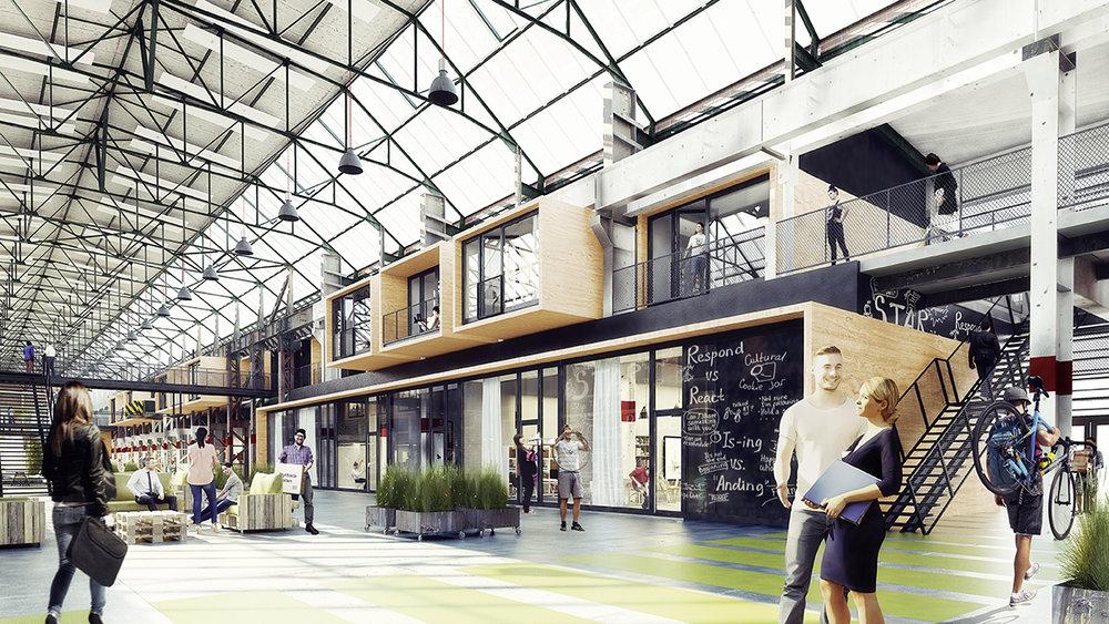 """""""Es geht schon lange nicht mehr darum, Flächen zu erzeugen, die die höchste Effizienz haben"""" - Factory Campus nach der Fertigstellung 2020"""