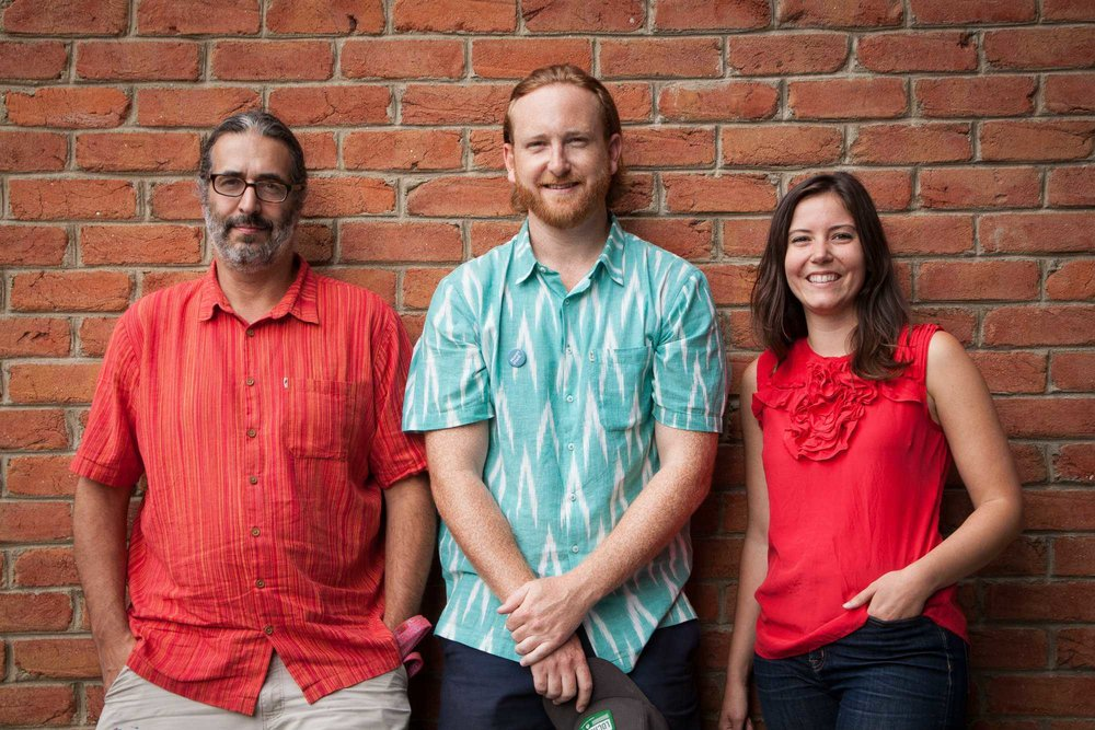 Michael, Dan, Meg (Localovre)