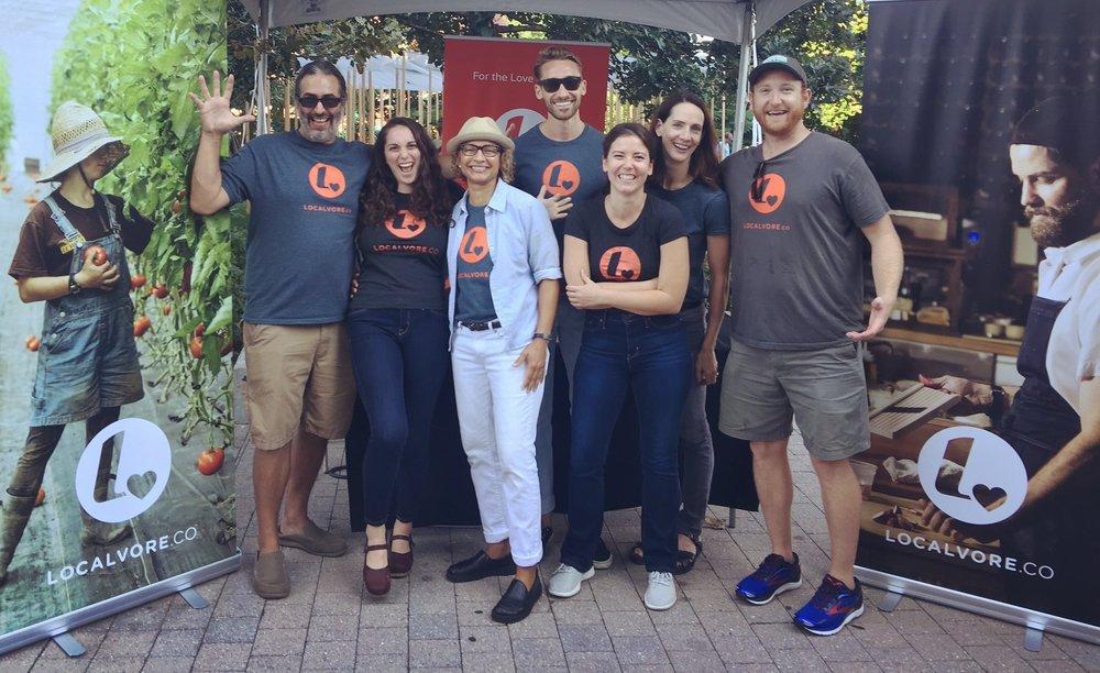 Localvore team at Boston Local Food Festival