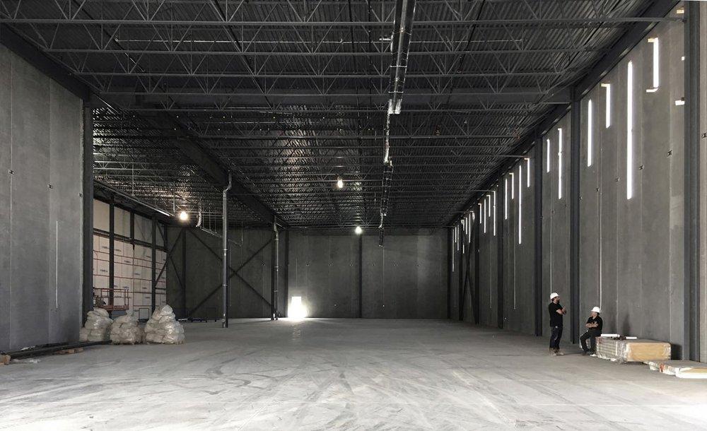Amantea Architects / QTK Factory Addition
