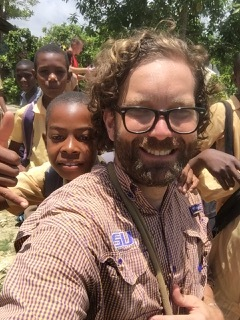Dr. Phillip Conner on an medical mission in Haiti