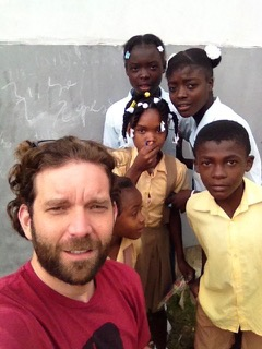 Dr. Phillip Conner on an educational mission in Haiti