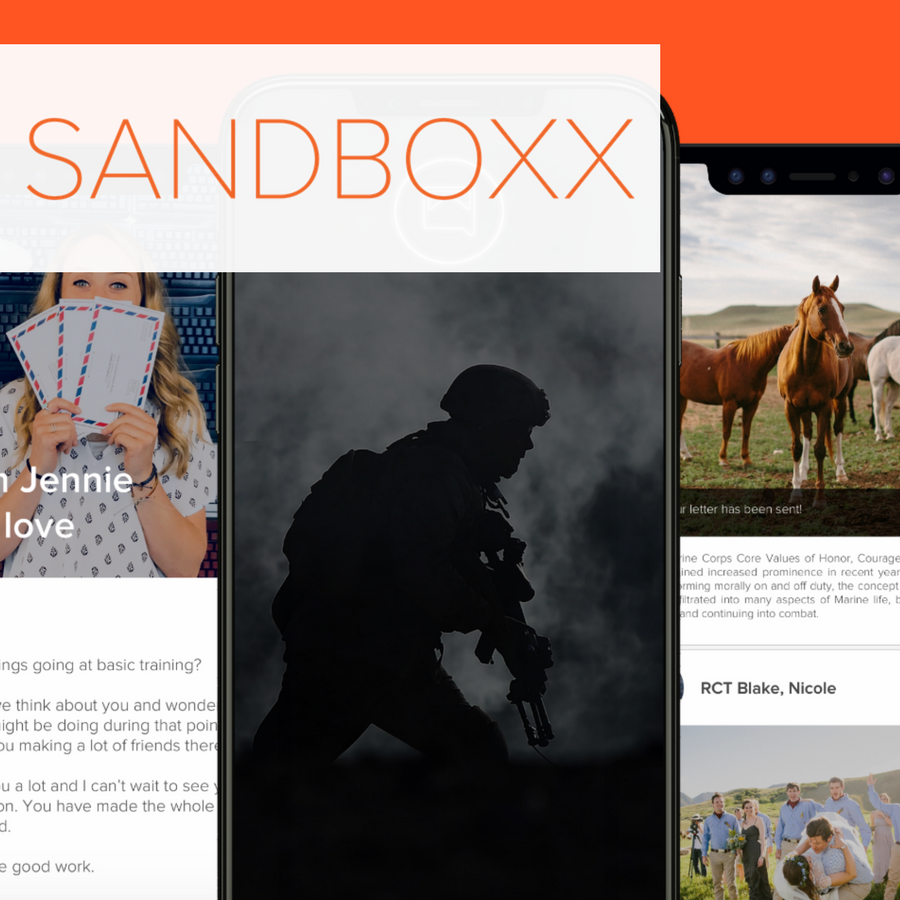 Case Study: Sandboxx - StartUp - Government/Media - Multiple Frameworks
