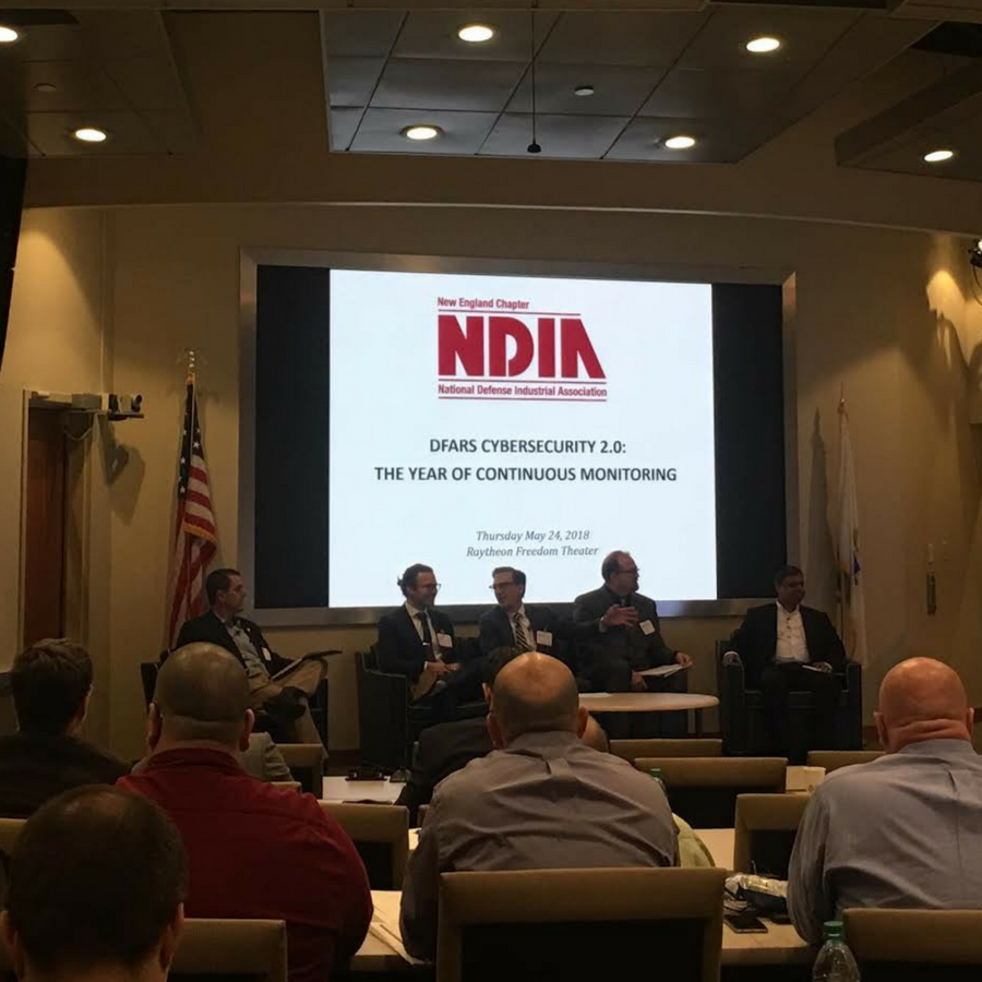 Thanks to Raytheon Integrated Defense and the NDIA for Having Us Speak on DFARS at the Annual New England Forum - May 2018