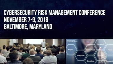 NIST Risk Management Conference