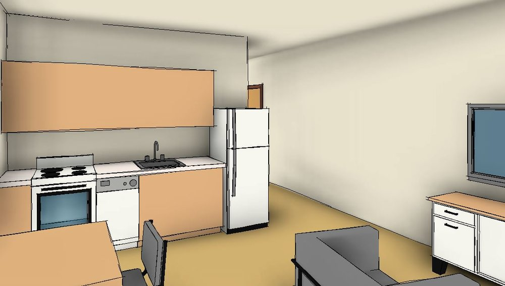 An affordable housing project for emancipated foster youth. -